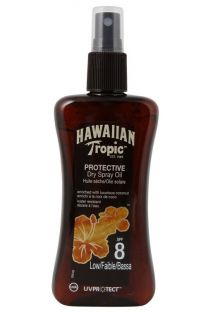 HAWAIIAN TROPIC BRONZING LOTION - Spray 200ml SPF 8